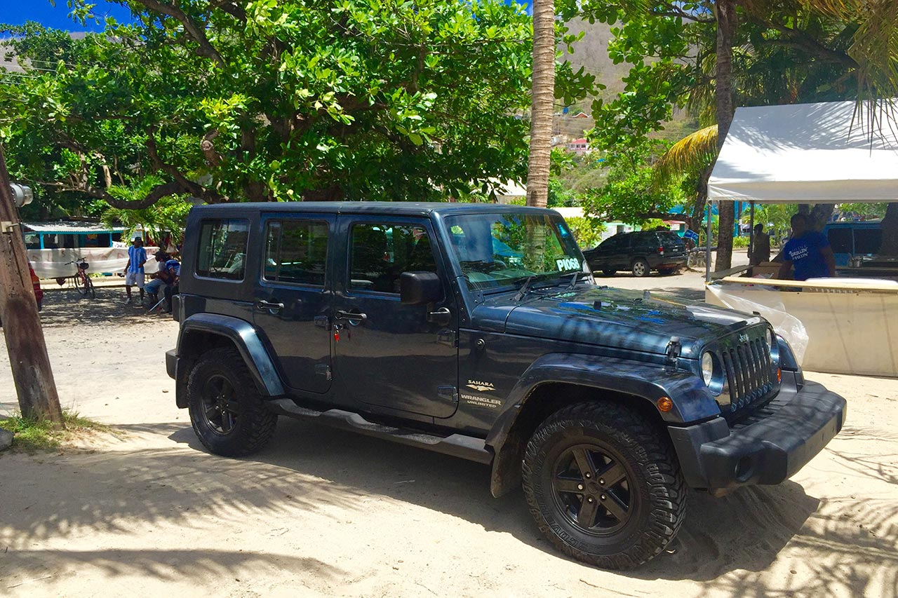 Explore the island with our Jeep Wrangler
